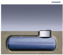 Flüssggastank erdgedeckt © Primagas