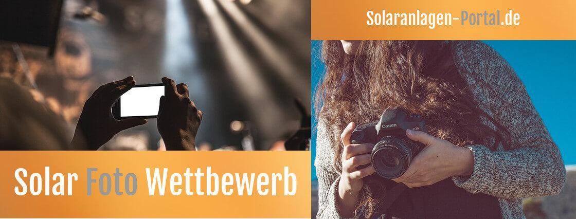 Pressefoto vom Solar-Foto-Wettbewerb
