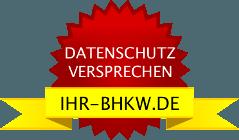 Datenschutz auf IHR-BHKW.DE